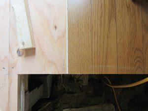 フローリングの上張りや直貼り工法を選んだ時の工事日数と特徴