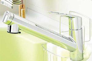 ビルトインタイプの浄水器